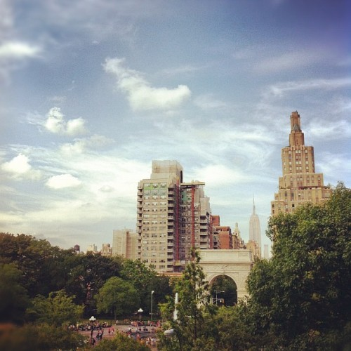 #lunch with a #nyc #rooftop #view :)  (Taken with Instagram at NYU Kimmel Center Eisner And Lubin Auditorium)