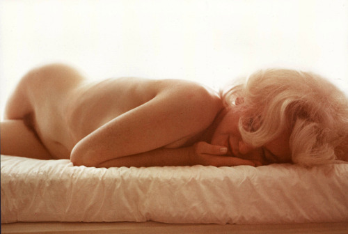 1962: Marilyn Monroe, photograph by Bert Stern.