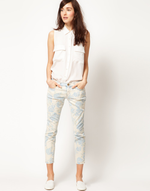 Current/Elliott Stiletto Skinny in Floral PrintMore photos & another fashion brands: bit.ly/JgRabU