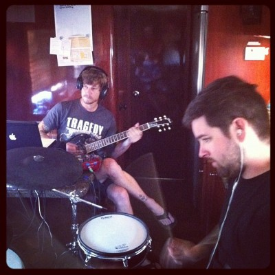 Writing our new record on the Warped Tour!  (Taken with Instagram)