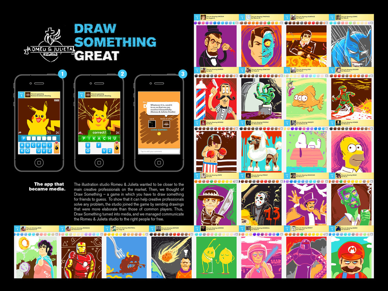Romeu&Julieta Studio: Draw something great