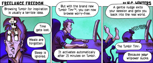 The Tumblr Timr. More Freelance Freedom comics here.
