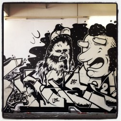 #streetart #sean2 #art #drop #graffiti (Pris avec Instagram)