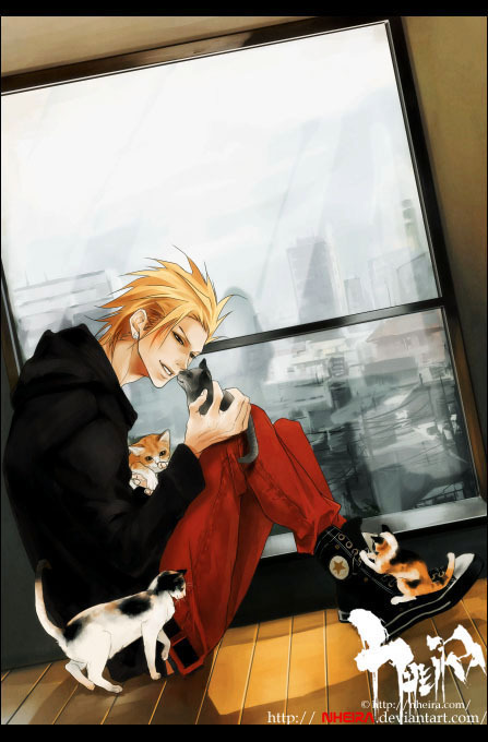 sluttyguitarist:  cats.. cats everywhere! (btw, it's Tetsuya from 'Slutty guitarist')