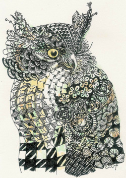 ruineshumaines:  Trippy the Owl (by NT Candy)