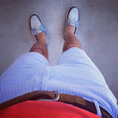 Summering. #ootd #summer #iamwearing #whatiwore #menswear #prep #preppy #style #fashion #shorts   (Taken with Instagram)