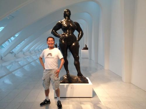 stopgoblin:  George Takei @ the Milwaukee Art Museum