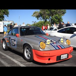 Mmmm… #MartiniRacing! #Porsche #911 #martinimonday #fuchs #supercarsunday  (Taken with Instagram at Supercar Sunday)