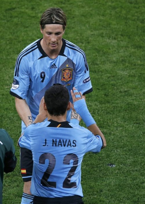 fernando out navas in :'(