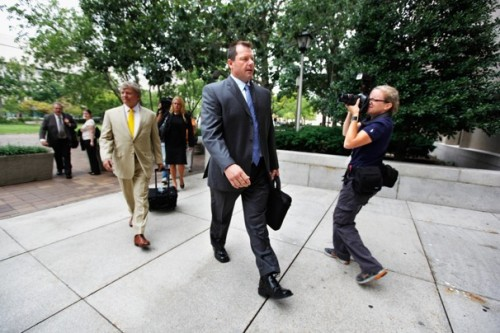 Roger Clemens found not guilty of perjury: The former baseball pitcher faced a seven-week long trial over whether he lied to a Congressional panel on his steroid usage back in 2008. Accusations that Clemens (among other players) used steroids date back to the Mitchell Report, produced by former Sen. George Mitchell in 2007. After a few days of deliberations, which largely hinged on the word of his former strength coach Brian McNamee, the jury sided with Clemens, finding him not guilty of all charges. More as we get it.