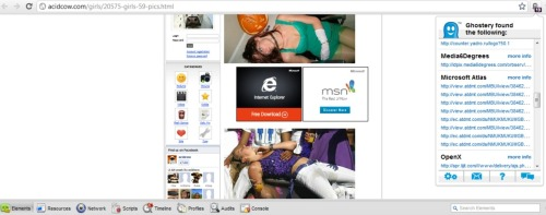 Why has this girl peed herself? Why are Microsoft advertising on a site called acidcow? I don't know the answers to these questions. What I do know is that a 'drunk girl' search always yields results.