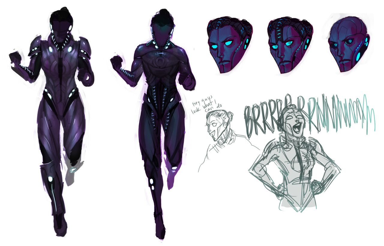 makanidotdot:  playing with more shepard queen of reapers  mmmmyesperfect.jpg