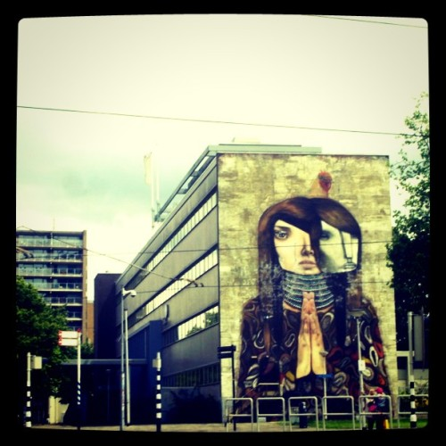 #Mural #Rotterdam #photooftheday #picoftheday #instadaily #graffiti #art  (Taken with Instagram)