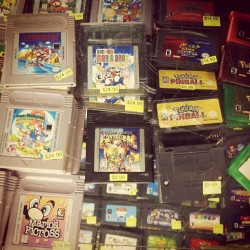 cheeselesspizza:  looking at all these games I wish I was a kid again  (Taken with Instagram)