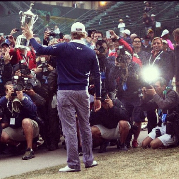 Webb Simpson wins #golf #2012 #usopen at Olympic Club in #sf #sanfrancisco (Taken with Instagram)