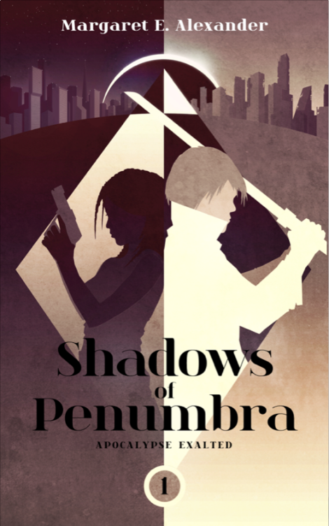 Shadows of Penumbra - Alternate Cover by Ron Guyatt Deviant Art || My Store || Facebook || Twitter || Flickr This was a commissioned cover design for an E-Book by author Margaret E. Alexander   Learn more about the book and see the Finished Cover here www.apocalypseexalted.com
