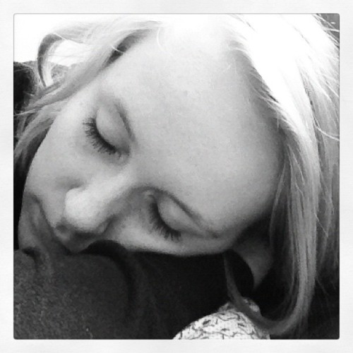 #exhausted #tired #sleepy #girl #blackandwhite #self #me #eyelashes (Taken with Instagram)