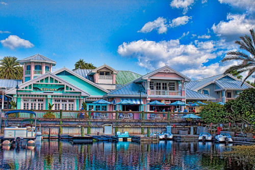 disney—magic:  Disney Key West Resort - Updated Version by Larry White (Trying_to_Shine) on Flickr.