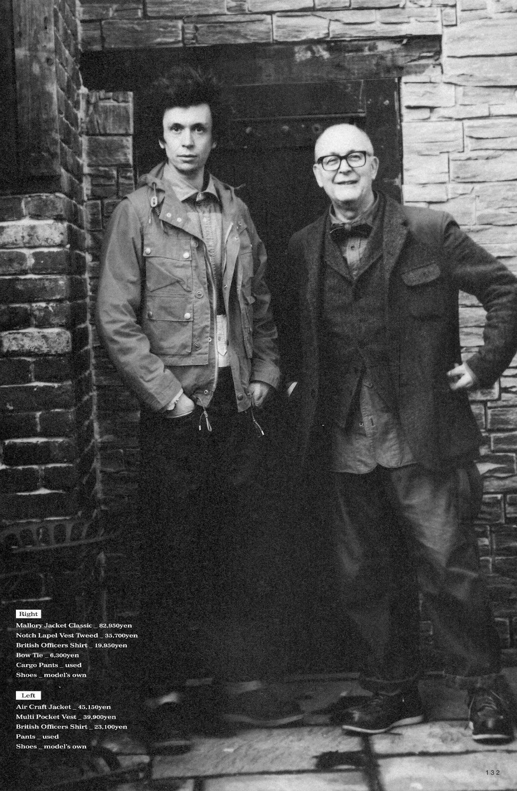Nigel Cabourn feature from the latest edition of 2nd Magazine via Redwing1905