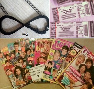 onedirectionmakesmehappyalways:  Giveaway! I really love you all ♥ Includes:  7 different One Direction Magazines 15 Directioner Necklaces 2 Tickets to a One Direction Concert! click here to view how this is possible Rules: Must be following me Reblog this (no likes) Reblogging more than once increases your chances Messaging me increases your chances Don't spam my ask box (no sob stories, etc.) (I will disqualify you.) Deatails: check my FAQ for any other questions you have or just ask me *Note: The location of the concert tickets will be announced when the winners are! *Extra Note: If you think this is fake; don't enter. You will miss out though! I promise this is real.