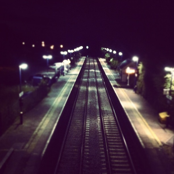 The end of the line. (Taken with Instagram)