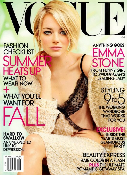 factorypr:  Emma Stone. Vogue July 2012.