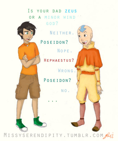 PJATO and Avatar crossover.