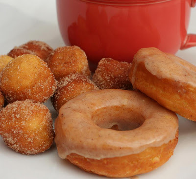 Apple Pumpkin Spiced Donuts Recipe Here