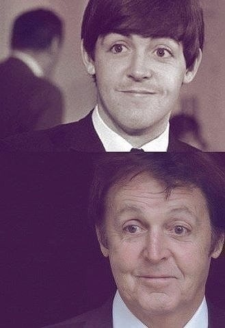 mendingthesail:  happy birthday sir paul mccartney. no matter how old you get, you'll always be the same baby faced beatle to me.