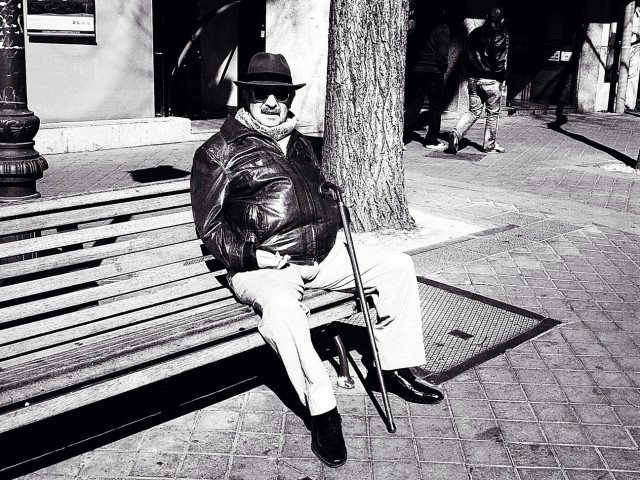 streetphotography at Glorieta de Quevedo by Cbas28 on EyeEm