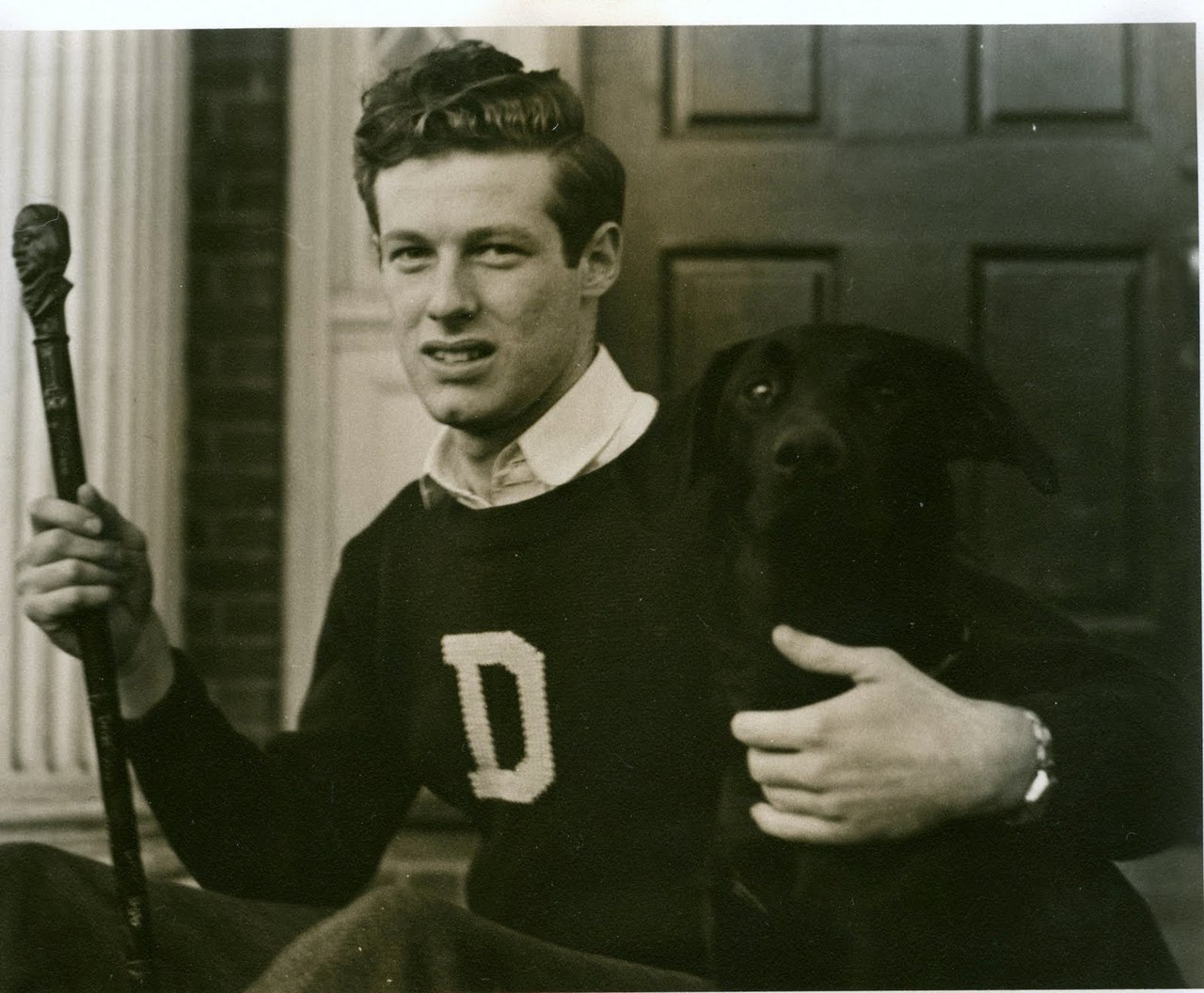 menandtheirdogs:  1bohemian:  Dartmouth Man (T. King)