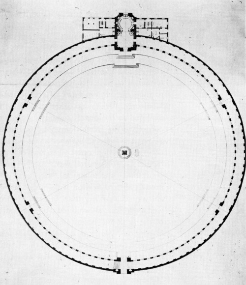 archiveofaffinities:  Capron, Cemetery, Plan, Paris, France, 1782