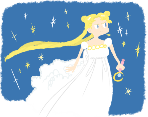 sailorswayze:  even when im not drawing sailor moon stuff im drawing sailor moon stuff