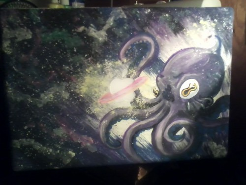 My laptop has been alien-octofied.