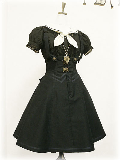 I love it because its a weird gothic sailor coord