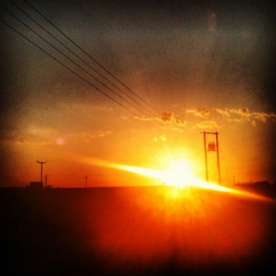 Burning Sun #landscape #instagood #iphoneonly #instagram #beautiful #100likes #50likes #nature #wildlife #sunrise #sunset #sun #sunny #sky #sunray #summer #skyporn #cloud #clouds #cloudporn  #countryside #scotland #phoneline #telephone #silhouette  (Taken with Instagram)