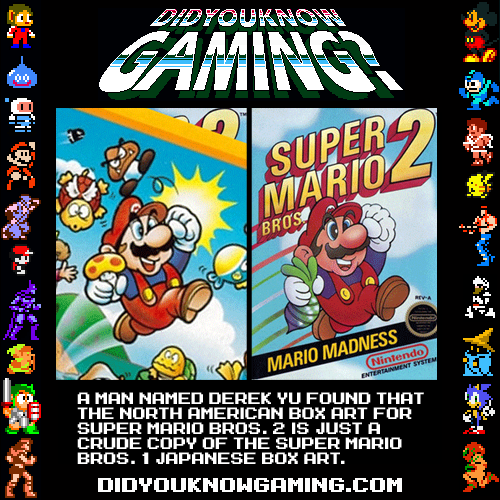 didyouknowgaming:  Super Mario Bros. 2.