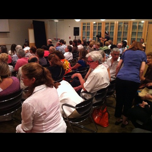Lecture: Master T on José Bedia exhibition at #MAM.  (Taken with...