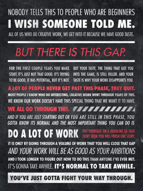 myedol:  Ira Glass Quote by Sawyer Hollenshead