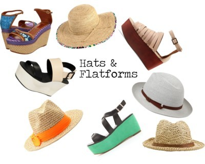 Hats & Flatforms by shekinahjohnson featuring sun hats