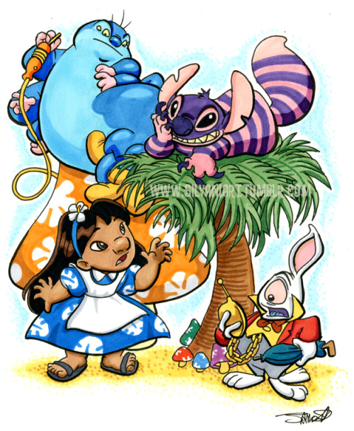 "silvaniart:  Heroescon Auction Piece- ""We're all lolo here"""