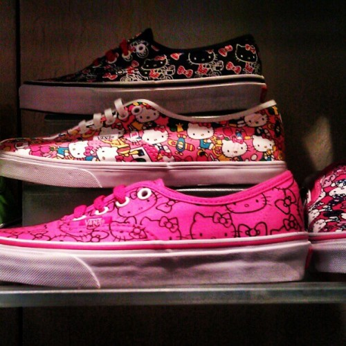 #Vans #hellokitty #swag (Taken with Instagram)