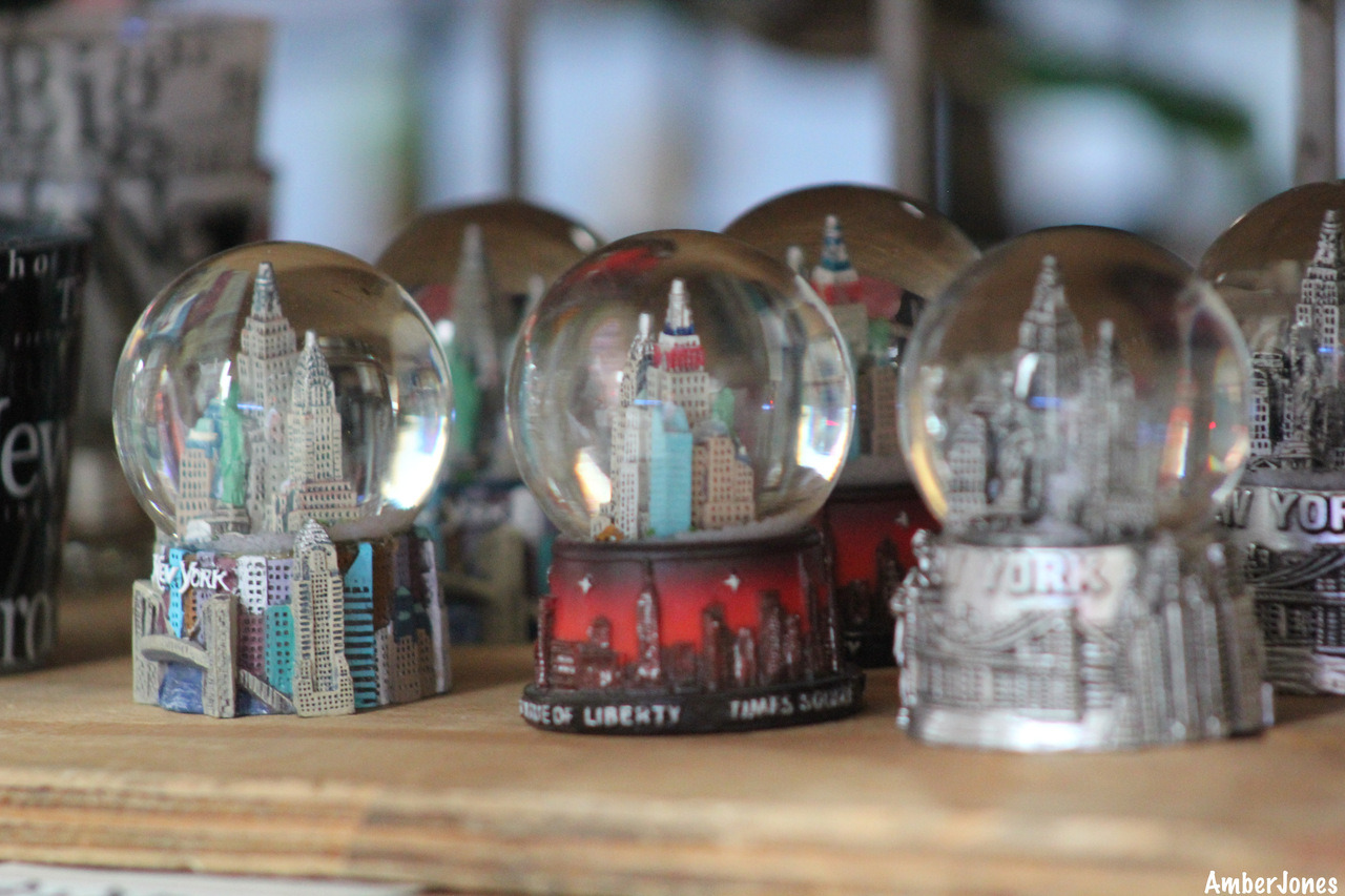 Snow globes of nyc