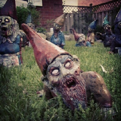 Gnome zombies (Taken with Instagram)
