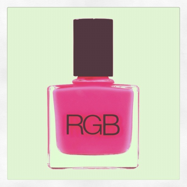 @rgbcosmedics Nail Polish in PINK. Formaldehyde, carcinogen & cruelty free. Made in the USA. #EcoMonday #BuyGreen http://thereformation.com/RGB-NAIL-POLISH-PINK.html (Taken with Instagram)