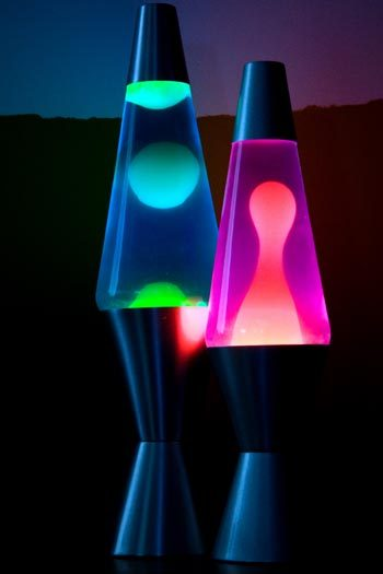 Lava Lamps are very popular in 1978! A lava lamp (or Astro lamp) is a decorative novelty item that contains blobs of coloured wax inside a glass vessel filled with clear liquid; the wax rises and falls as its density changes due to heating from an incandescent light bulb underneath the vessel. The appearance of the wax is suggestive of pāhoehoe lava, hence the name.