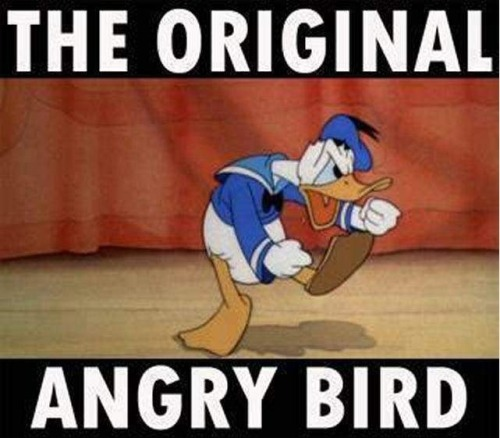 Donald Duck is a hipster