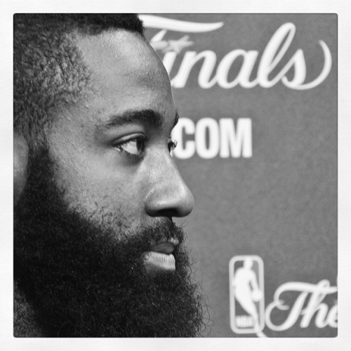 Does James Harden have enough power in that beard to help dig OKC out of a 2-1 hole?