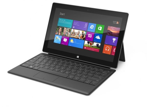 Microsoft has announced their Surface tablet.TechCrunch has details.Looks like a pretty capable flagship Windows 8 tablet, though a great deal hinges on pricing and timing if Microsoft plans to compete against Apple in this space (they are, however, competing against their own OEMs - one has to wonder how they feel about it).Also, companies need to stop announcing things until they're ready to provide a reasonably solid date when people will be able to walk into a store and buy a product.