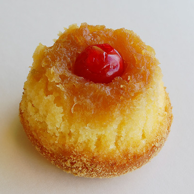 Pineapple Upside-down Cupcake